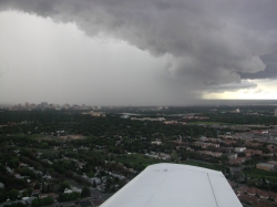 Weather approaching Regina airport