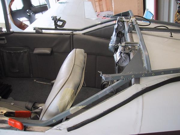 "108"" Wide Canopy Frame and Legs - Boat Lifts 