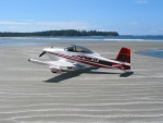 Mustang II C-GAIF on Vargas Island Beach